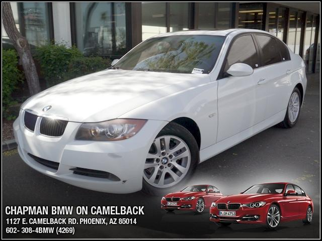 2007 BMW 3-Series Sdn 328i 56030 miles Chapman BMW is located at 12th and Camelback in Phoenix 602