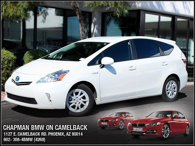 2012 Toyota Prius v 13499 miles 1127 E Camelback BUY WITH CONFIDENCE Chapman BMW is locat