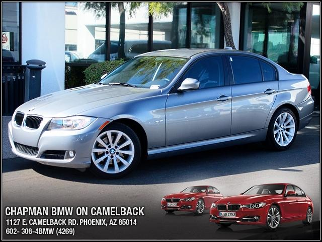 2011 BMW 3-Series Sdn 328i 27627 miles 1127 E Camelback BUY WITH CONFIDENCE Chapman BMW i