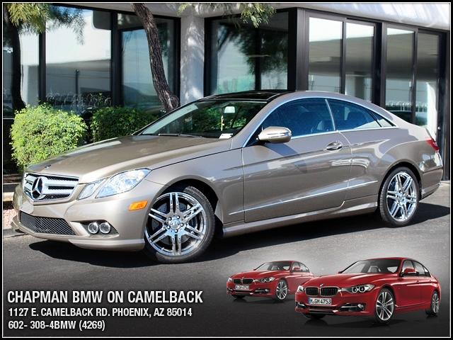 2010 Mercedes E-Class 55L 44860 miles 1127 E Camelback BUY WITH CONFIDENCE Chapman BMW i