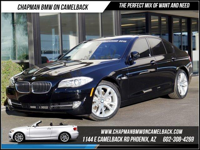 2012 BMW 5-Series 528i PremSport Pkg NAV 25635 miles 6023852286Chapman BMW on Camelbacks Hap