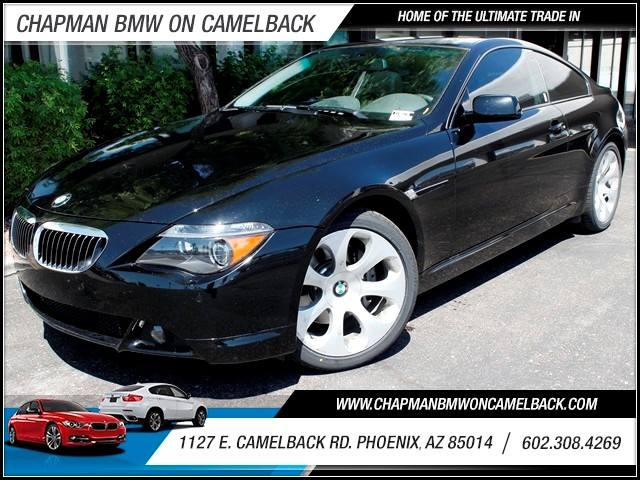 2005 BMW 6-Series 645Ci 55023 miles One Previous Owner Low Miles Sport Package Premium Sound Pa