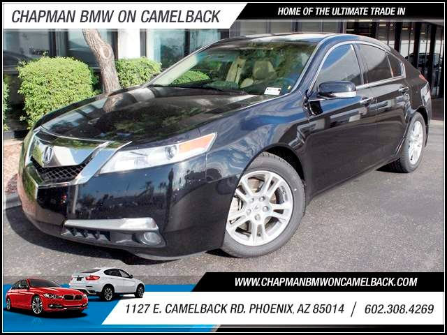 2010 Acura TL wTech 60662 miles 1127 E Camelback BUY WITH CONFIDENCE Chapman BMW is loca
