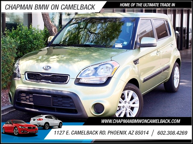2012 Kia Soul Soul 33434 miles Remainder of Manufacturers Warranty Phone wireless data link Blue