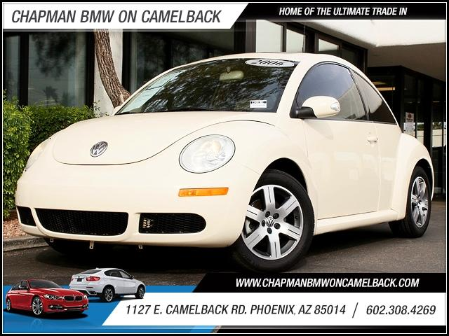 2006 Volkswagen New Beetle TDI 82652 miles 1127 E Camelback BUY WITH CONFIDENCE Chapman B