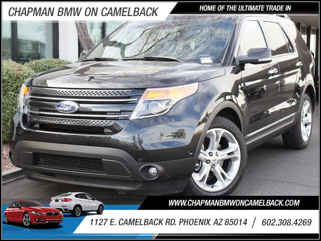 2012 Ford Explorer FWD 4dr Limited 27961 miles 1127 E Camelback BUY WITH CONFIDENCE Chapm