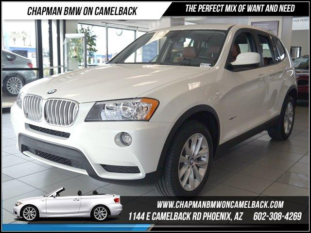 2014 BMW X3 28i AWD Prem Pkg NAV 17512 miles 1144 E CAMELBACK RD March CPO Sales Event All 20
