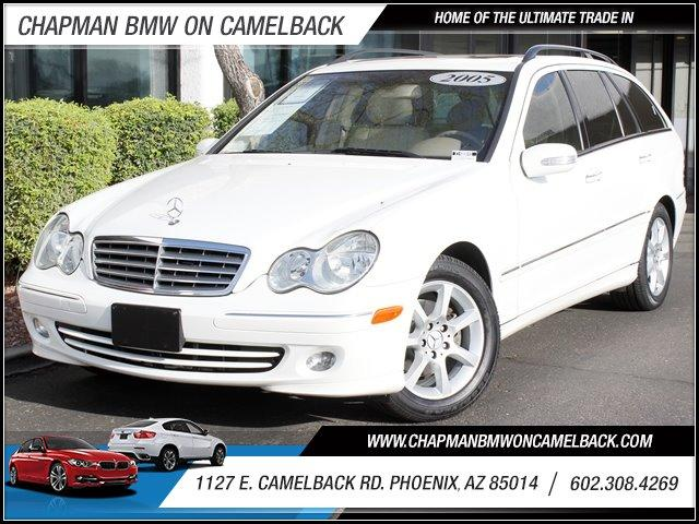 2005 Mercedes C-Class 4dr Wgn 26L Ltd Avail 94327 miles 1127 E Camelback BUY WITH CONFIDENCE