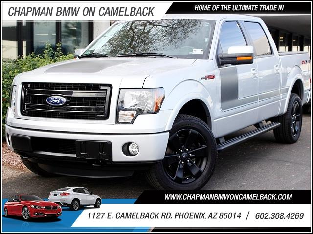 2013 Ford F-150 SuperCrew 4WD 8173 miles 1127 E Camelback BUY WITH CONFIDENCE Chapman BMW