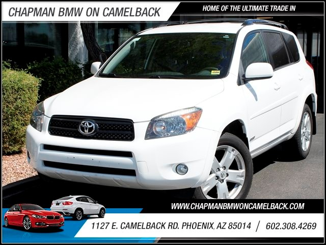 2007 Toyota RAV4 Sport 85536 miles 1127 E Camelback BUY WITH CONFIDENCE Chapman BMW is lo