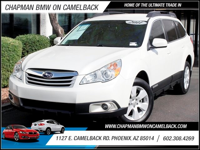 2011 Subaru Outback 25i Premium 57252 miles Cruise control Steering wheel tilt and telescopic