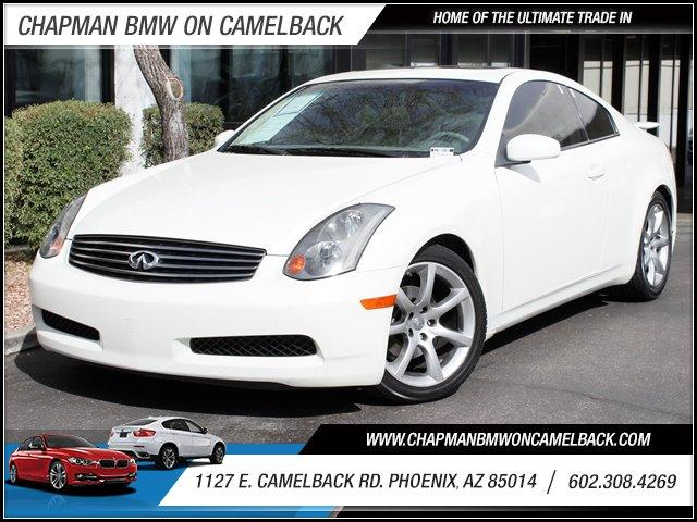 2004 Infiniti G35 132269 miles 127 E Camelback BUY WITH CONFIDENCE Chapman BMW is located