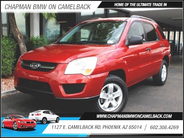 2010 Kia Sportage LX 44590 miles 1127 E Camelback BUY WITH CONFIDENCE Chapman BMW is loca