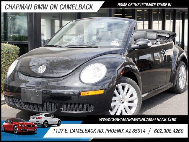 2009 Volkswagen New Beetle Conv S 18285 miles 1127 E Camelback BUY WITH CONFIDENCE Chapma