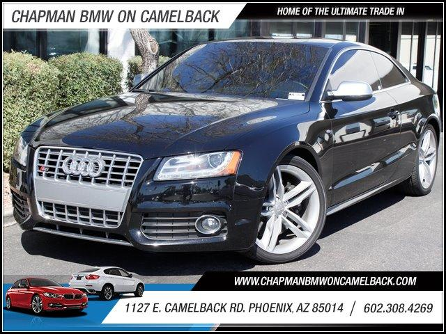2010 Audi S5 Prestige 38151 miles 1127 E Camelback BUY WITH CONFIDENCE Chapman BMW is loc