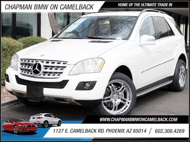 2011 Mercedes M-Class 4MATIC 4dr 35L 27550 miles 1127 E Camelback BUY WITH CONFIDENCE Ch