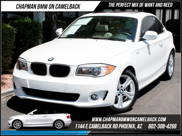 2012 BMW 1-Series 128i Prem 2 Pkg 21528 miles 1144 E Camelback Summer is here and the deals are