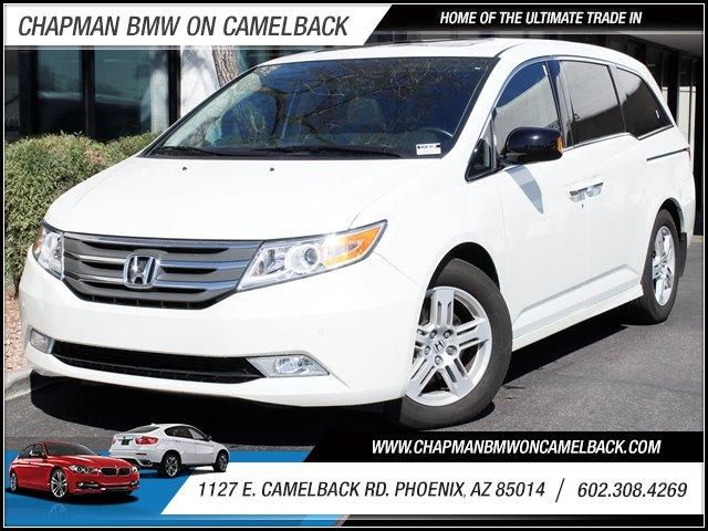 2013 Honda Odyssey Touring 20281 miles BUY WITH CONFIDENCE Chapman BMW is located at 12th an