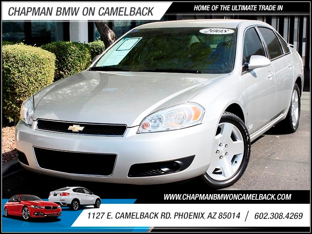 2008 Chevrolet Impala SS 84643 miles 1127 E Camelback BUY WITH CONFIDENCE Chapman BMW is