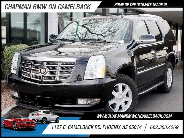 2008 Cadillac Escalade AWD 63352 miles 1127 E Camelback BUY WITH CONFIDENCE Chapman BMW i