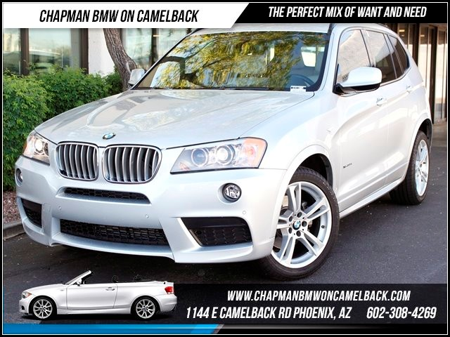 2011 BMW X3 xDrive35i 25241 miles 1144 E Camelback Chapman BMW on Camelback in Phoenix is the CP
