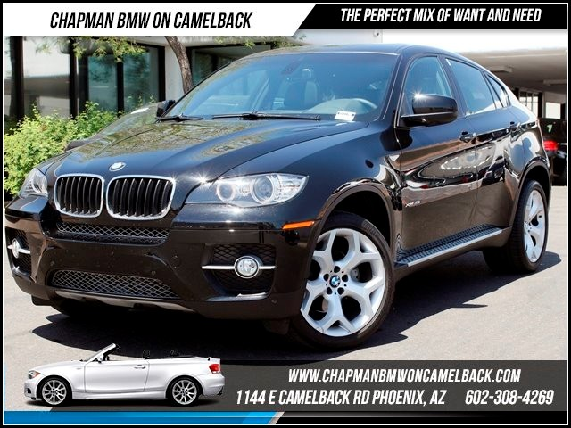2011 BMW X6 xDrive35i Prem Tech Pkg 50329 miles 1144 E Camelback Chapman BMW on Camelback in Pho