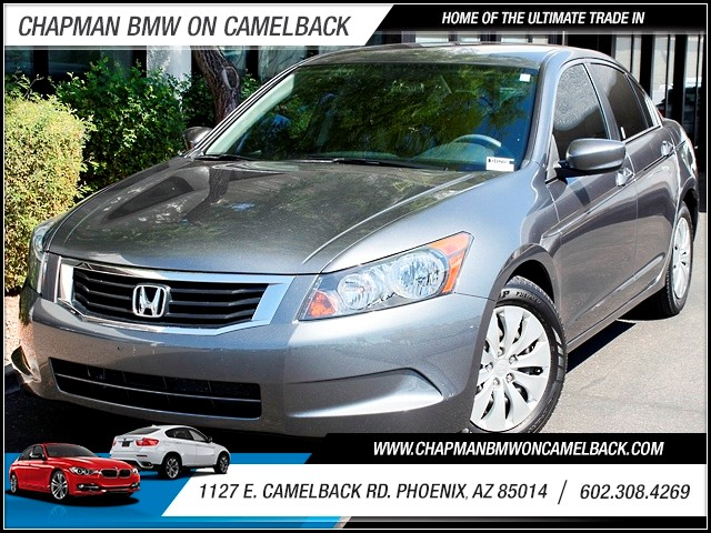 2010 Honda Accord LX 44743 miles 1127 E Camelback BUY WITH CONFIDENCE Chapman BMW is loca