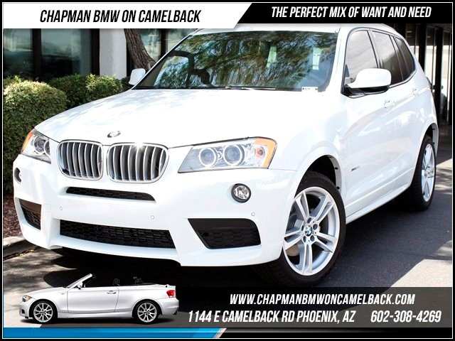 2014 BMW X3 xDrive35i M Sport Pkg 5223 miles 1144 E Camelback Summer is here and the deals are s