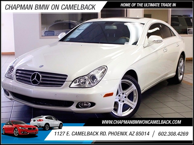 2007 Mercedes CLS-Class CLS550 76670 miles 1127 E Camelback BUY WITH CONFIDENCE Chapman B