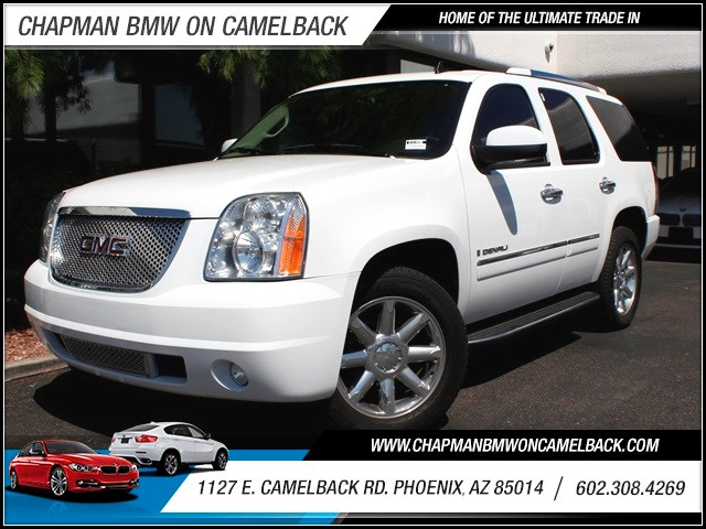2009 GMC Yukon Denali 86968 miles 1127 E Camelback BUY WITH CONFIDENCE Chapman BMW is loc