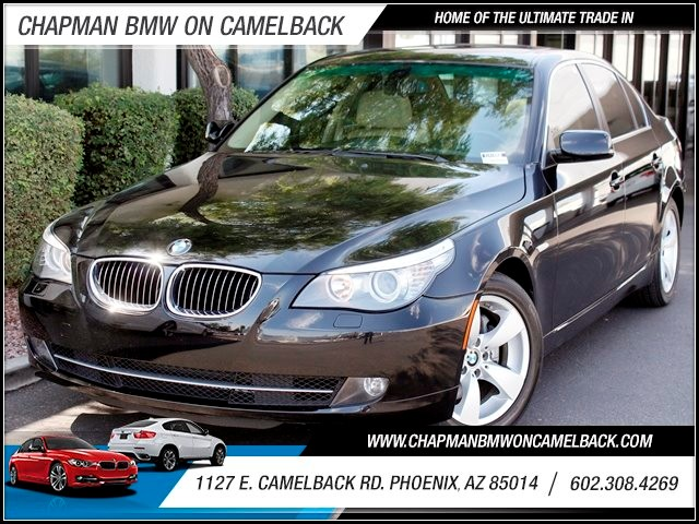 2008 BMW 5-Series 528i 59840 miles Moonroof BMW Assist with Bluetooth Dark Poplar wood trim Pow