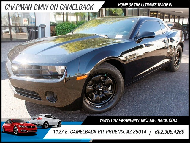 2012 Chevrolet Camaro LS 32883 miles 1127 E Camelback BUY WITH CONFIDENCE Chapman BMW Use