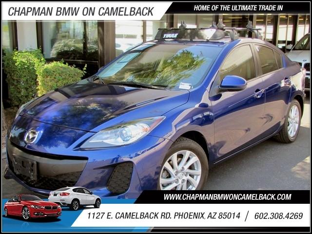 2012 Mazda MAZDA3 i Grand Touring 34056 miles 1127 E Camelback BUY WITH CONFIDENCE Chapma