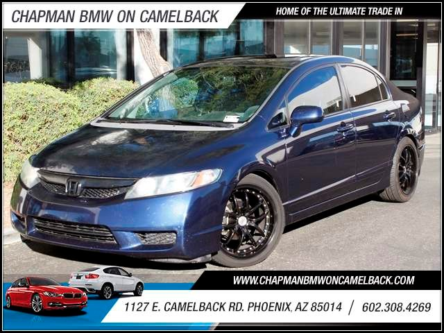 2009 Honda Civic EX 77147 miles 1127 E Camelback BUY WITH CONFIDENCE Chapman BMW is locat