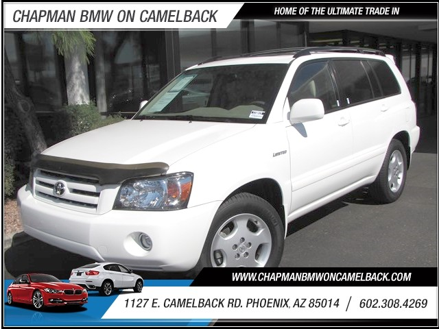 2005 Toyota Highlander Limited 62650 miles 1127 E Camelback BUY WITH CONFIDENCE Chapman B