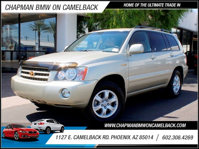 2001 Toyota Highlander 47965 miles 1127 E Camelback BUY WITH CONFIDENCE Chapman BMW Used