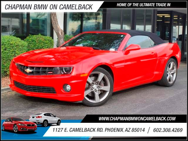 2011 Chevrolet Camaro SS 19235 miles 1127 E Camelback BUY WITH CONFIDENCE Chapman BMW is