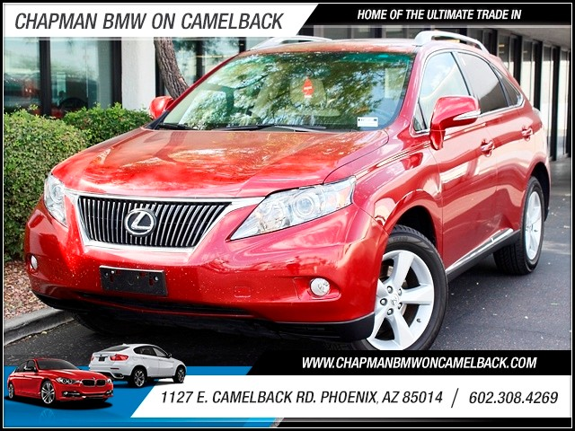 2010 Lexus RX 350 59395 miles 1127 E Camelback BUY WITH CONFIDENCE Chapman BMW is located