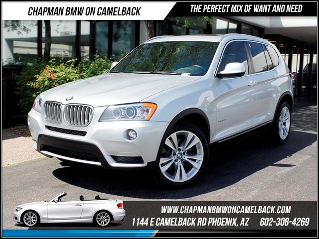 2013 BMW X3 xDrive35i NAV SA Pkg Comfort acc 43550 miles 1144 E CamelbackMarch Madness Sales