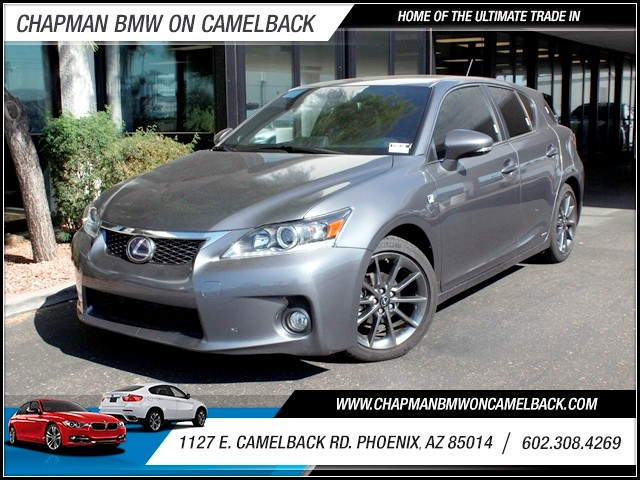 2013 Lexus CT 200h 15007 miles 1127 E Camelback BUY WITH CONFIDENCE Chapman BMW Used Car