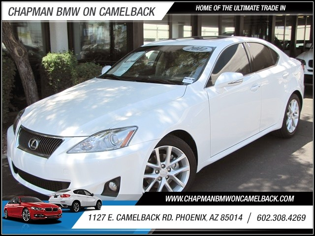 2012 Lexus IS 250 28883 miles 1127 E Camelback BUY WITH CONFIDENCE Chapman BMW Used Car C