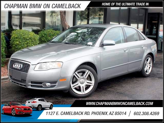 2007 Audi A4 20T 86770 miles 1127 E Camelback BUY WITH CONFIDENCE Chapman BMW is located