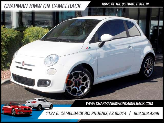 2012 FIAT 500 Sport 52667 miles 1127 E Camelback BUY WITH CONFIDENCE Chapman BMW is locat