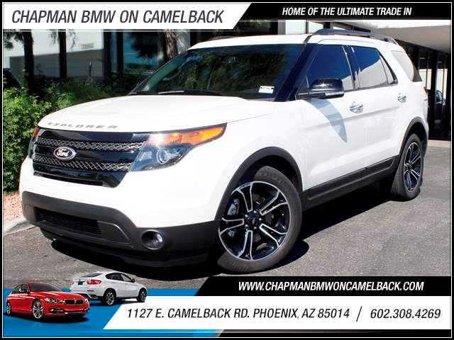 2013 Ford Explorer Sport 27479 miles 1127 E Camelback BUY WITH CONFIDENCE Chapman BMW is