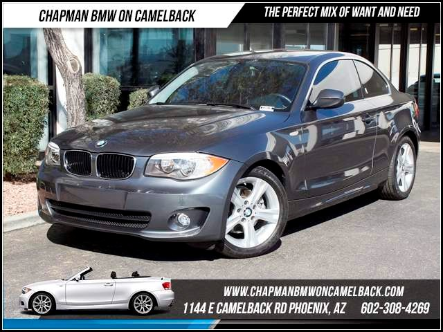 2013 BMW 1-Series 128i 12316 miles Chapman BMW on Camelback CPO Elite Sales Event Take advantage