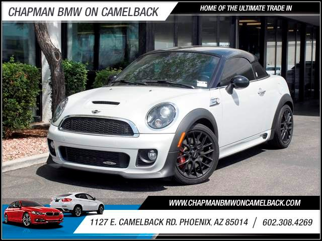 2012 MINI Cooper Coupe John Cooper Works 51287 miles 602 385-2286 1127 E Camelback HOME OF T