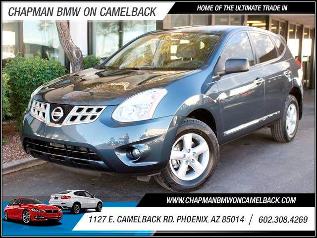 2012 Nissan Rogue S 48976 miles 1127 E Camelback BUY WITH CONFIDENCE Chapman BMW is locat