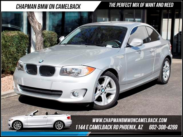 2013 BMW 1-Series 128i 12041 miles Chapman BMW on Camelback CPO Elite Sales Event Take advantage