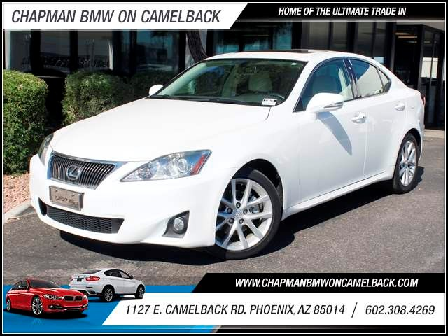 2012 Lexus IS 250 37488 miles 1127 E Camelback BLACK FRIDAY SALE EVENT going on NOW through the E
