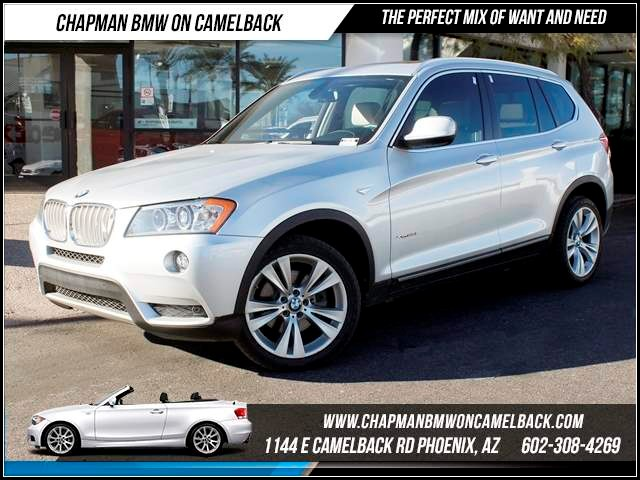 2012 BMW X3 xDrive35i Prem Tech Pkg 37912 miles 1144 E CamelbackHappier Holiday Sales Event on N